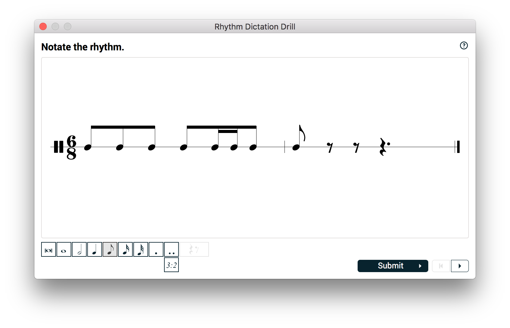 Rhythm Dictation
