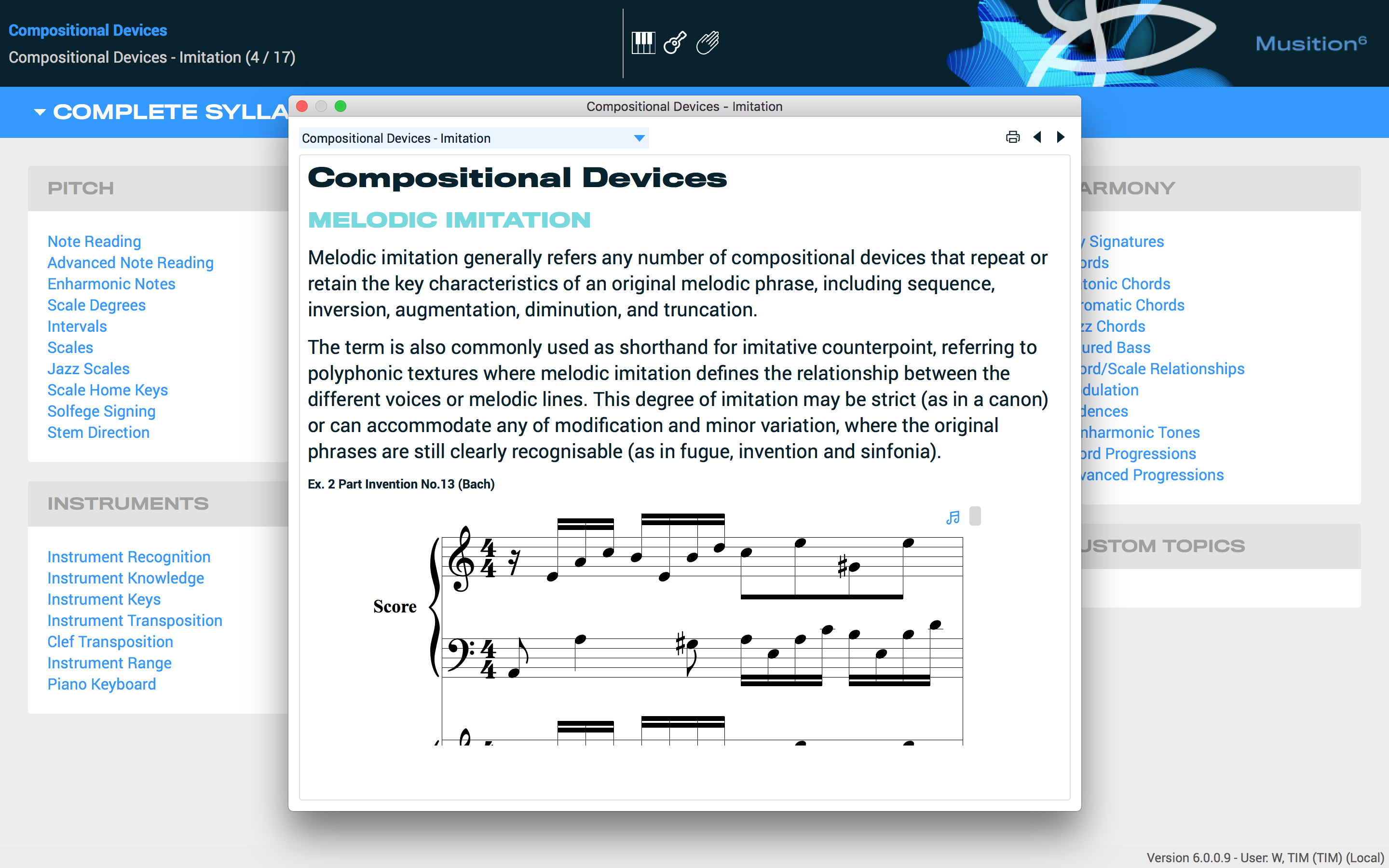 Compositional devices lesson